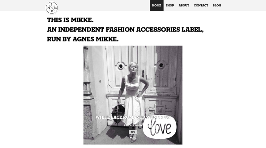 Mikke, Vienna (A) - Fashion site of Vienna based Agnes Mikke